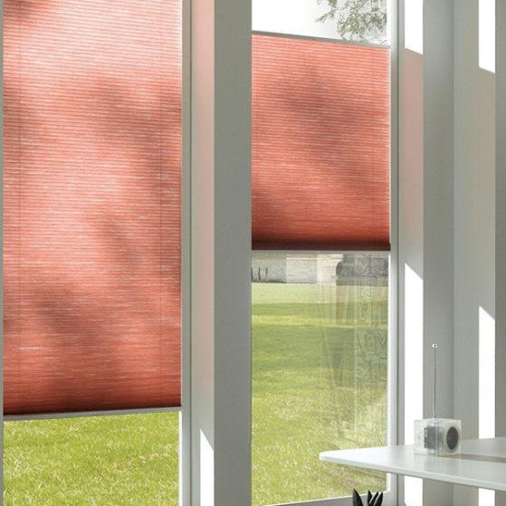 Плиссе на вертикальные окна
