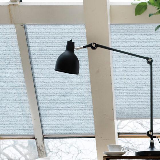 Плиссе на наклонные окна