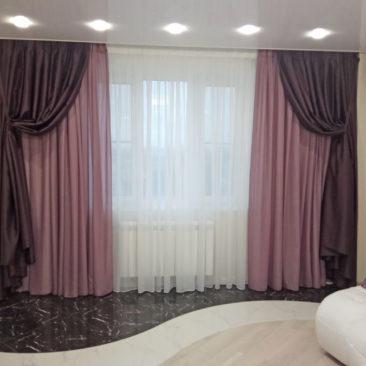 Квартира на Мичуринском - портфолио Салона Штор Ария