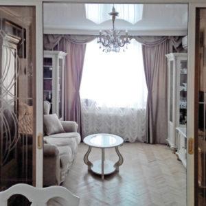 Квартира в Митино - портфолио Салона Штор Ария