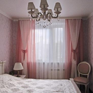 Розовые сны - портфолио Салона Штор Ария